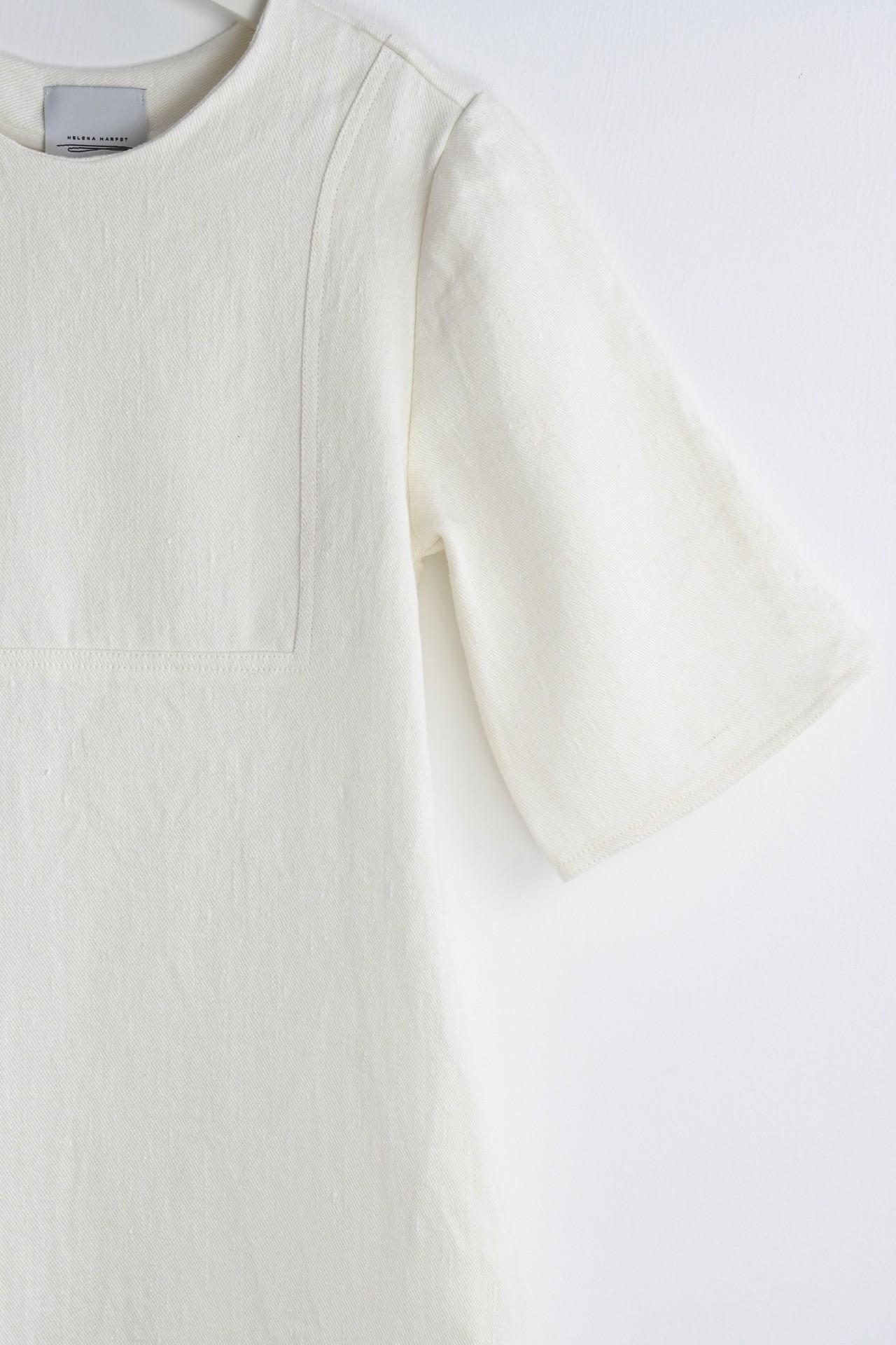 Gartenkleid creme - Detailansicht