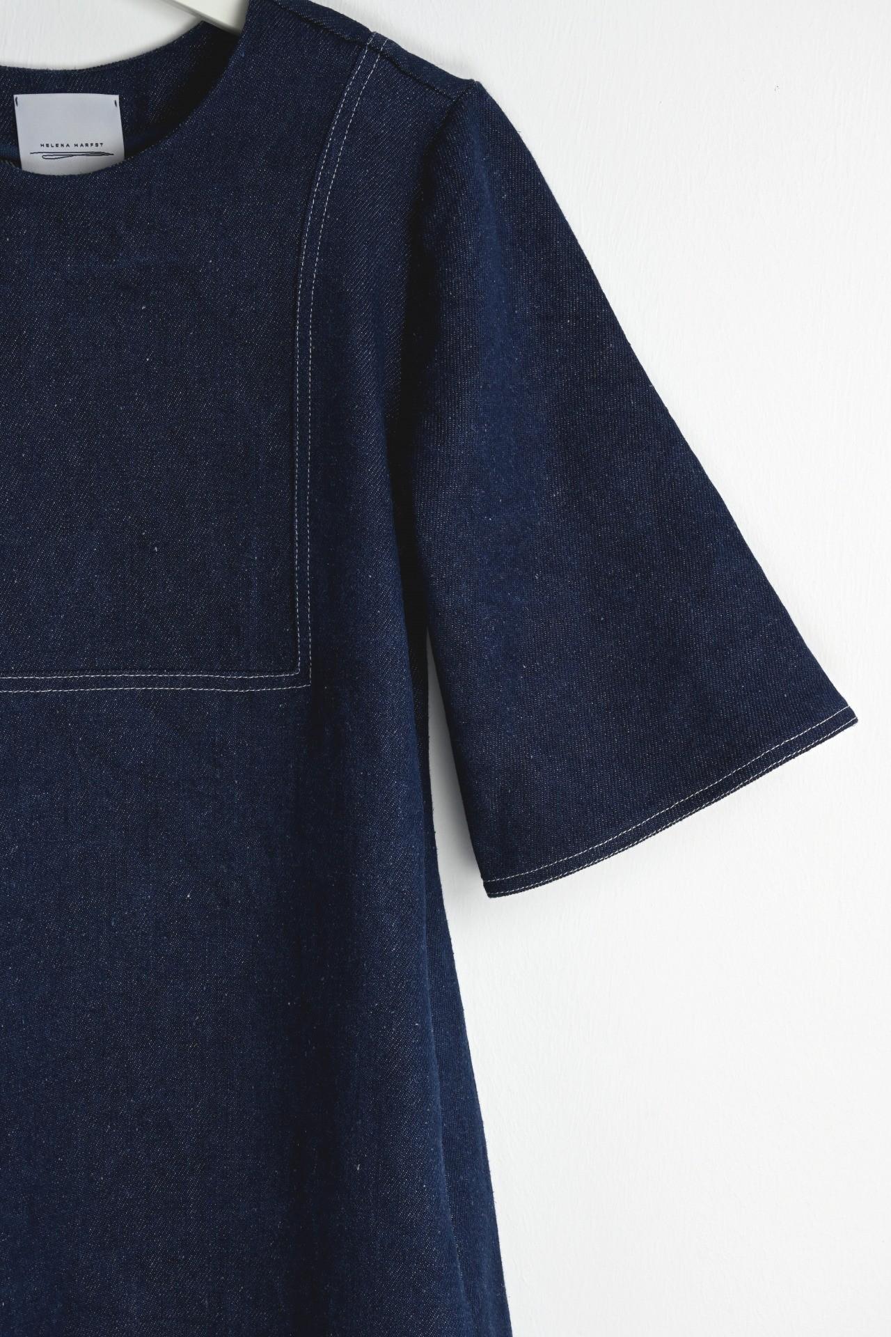 Gartenkleid indigo - Detail