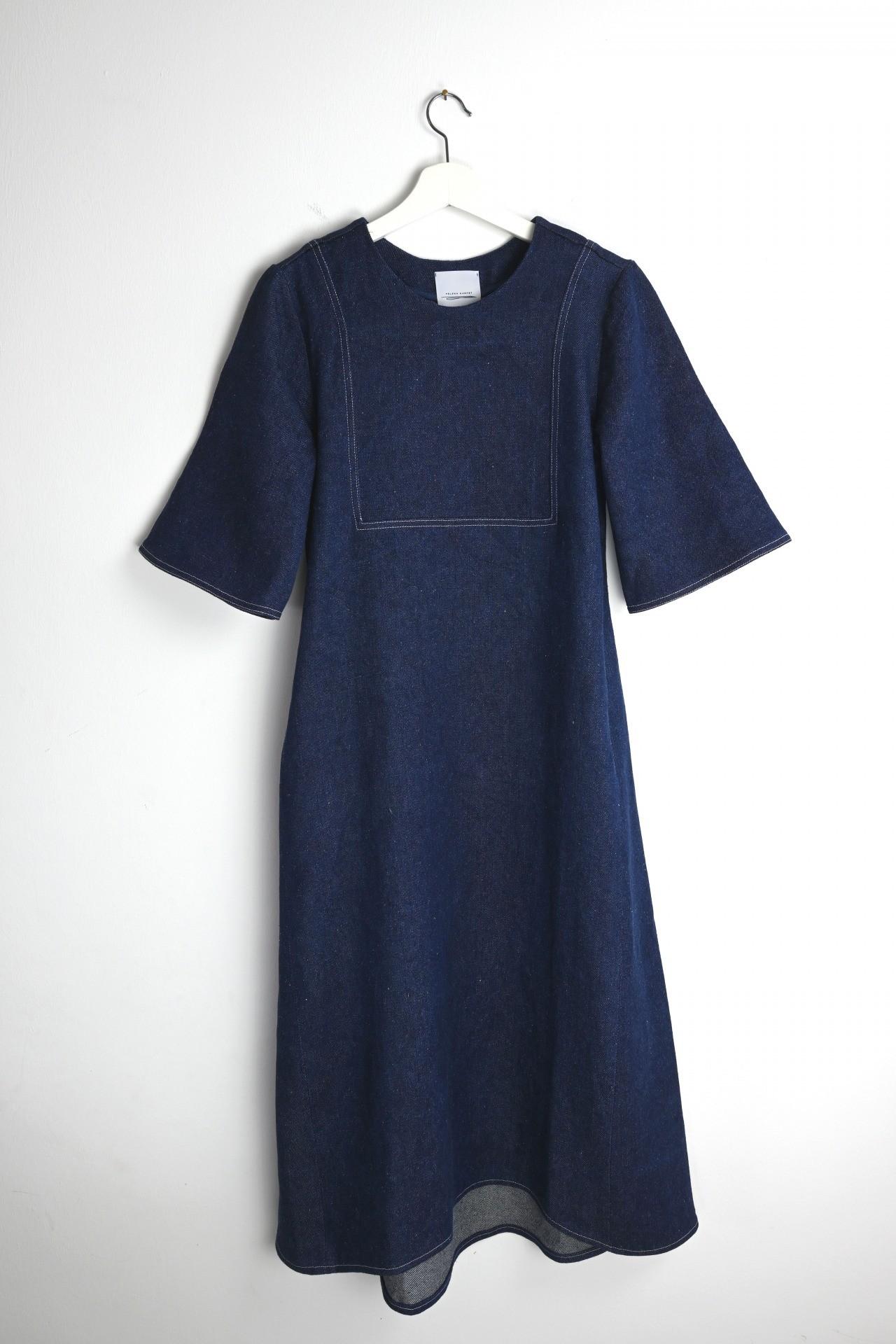 Gartenkleid indigo