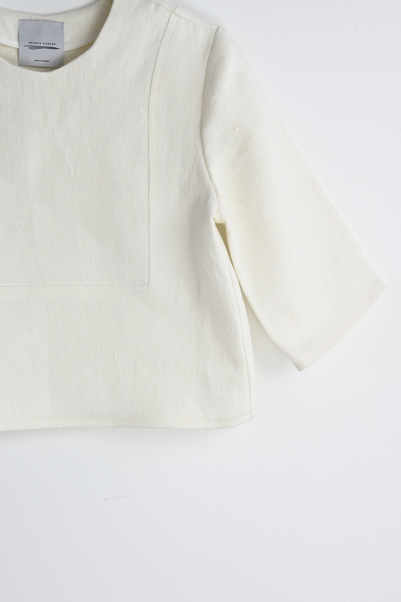 Gartenshirt creme - Detailansicht