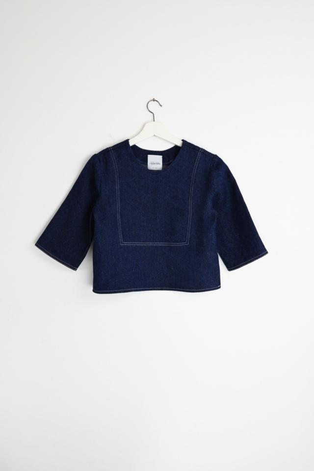 Gartenshirt indigo